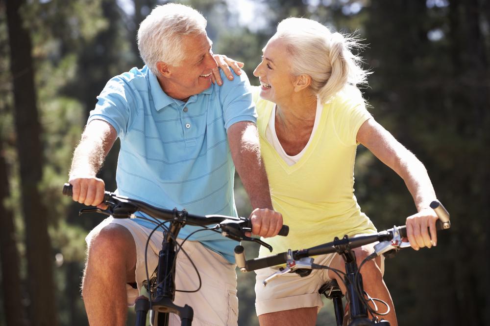 ser un jubilado saludable