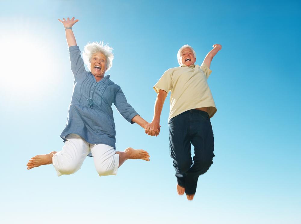 disfrutar la jubilación